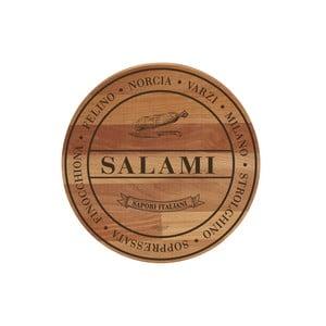 Bukowa deska do krojenia Broad Salami,30cm