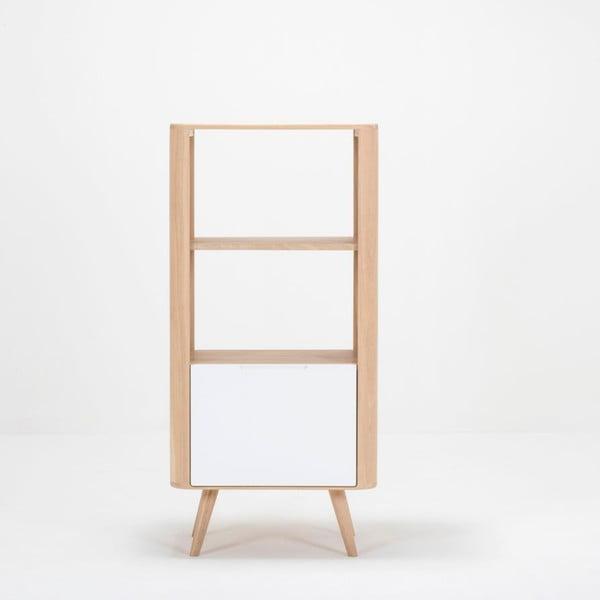 Regał z drewna dębowego Gazzda Ena, 60x42x125 cm