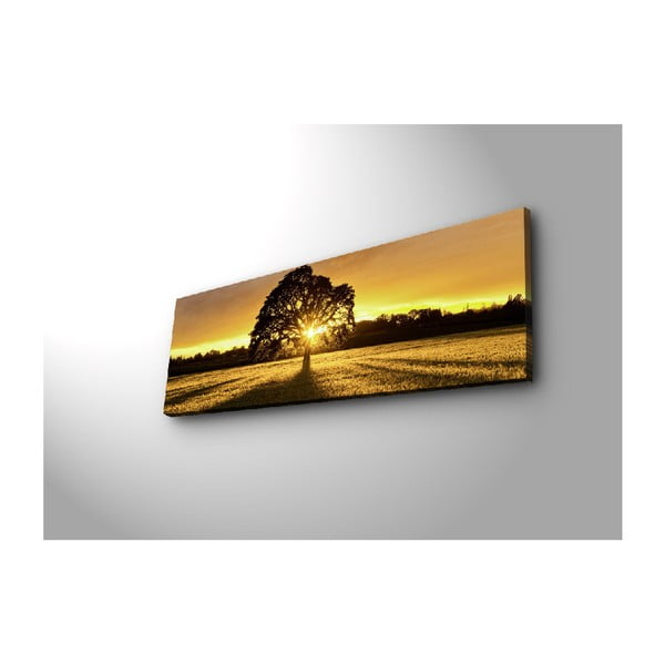 Podświetlany obraz Dione, 90x30 cm