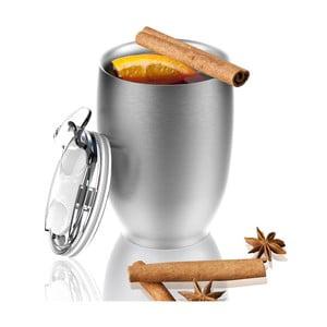 Nierdzewny kubek termiczny Imperial Beverage, srebrny