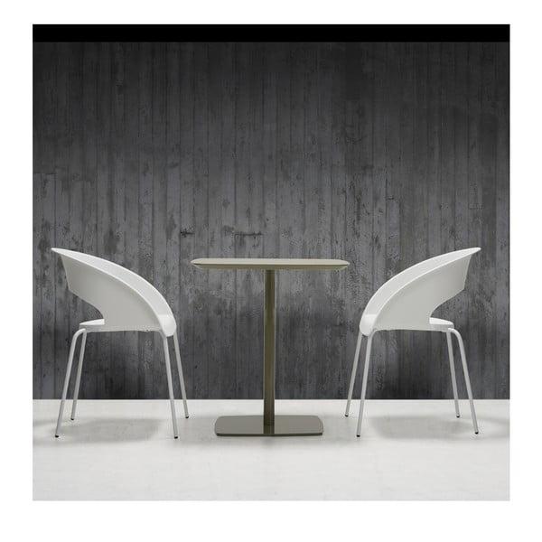 Białe krzesło biurowe Que Four Zago