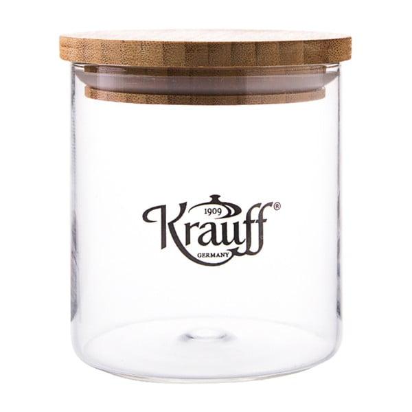 Pojemnik szklany Krauff Glass, 12,5 cm