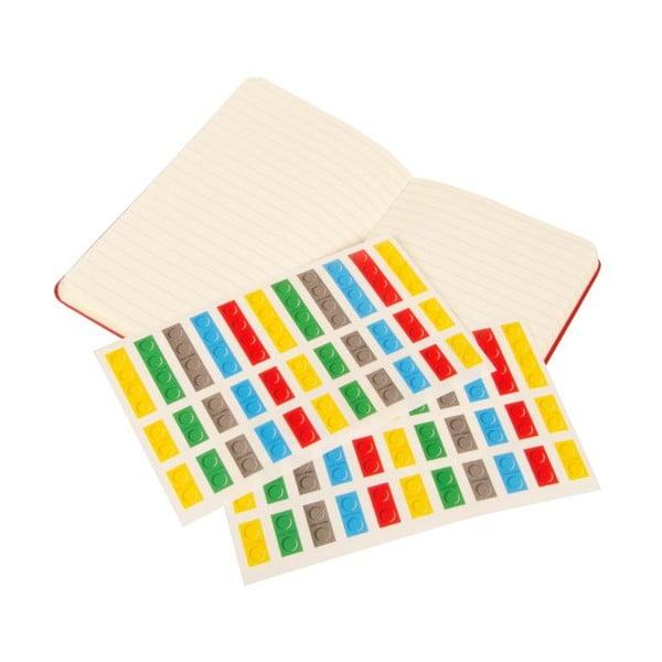 Notes w linie Moleskine Lego Red