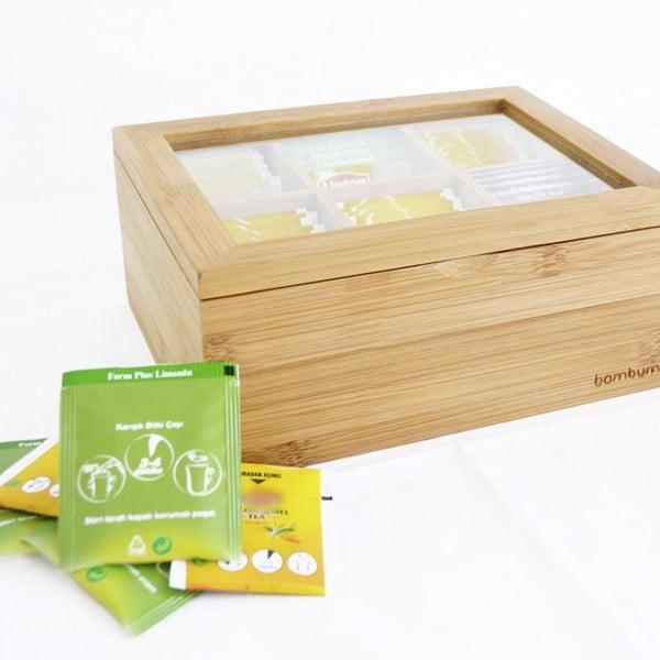 Bambusowy pojemnik na herbatę Bambum Misto