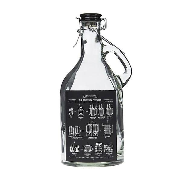 Szklana butelka InArt Blackboard