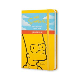 Żółty notes Moleskine The Simpsons, mały