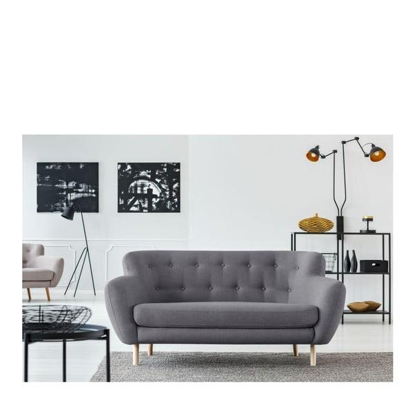 Szara sofa 2-osobowa Cosmopolitan design London