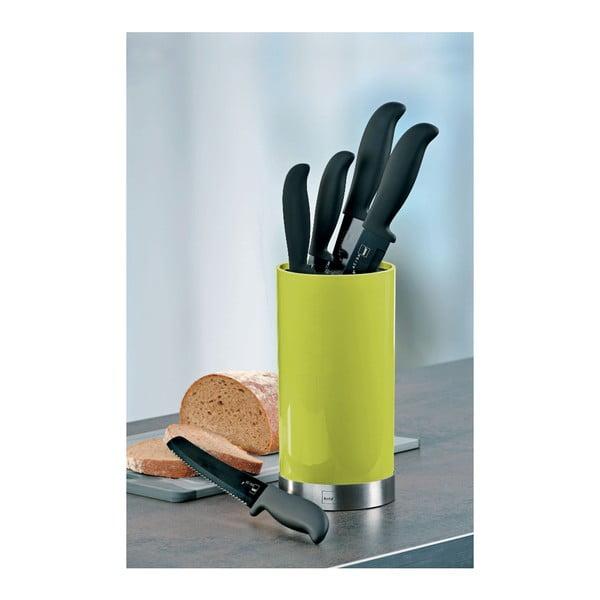 Noże kuchenne w stojaku Acida, limonkowy