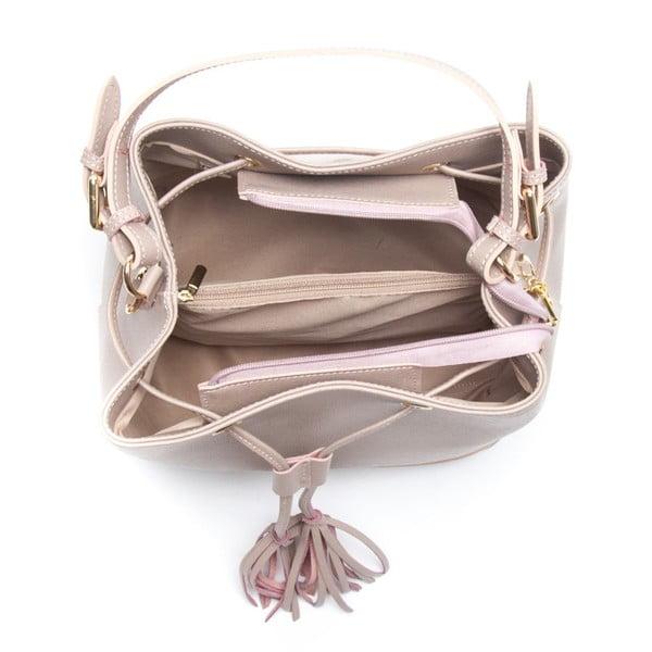 Skórzana torebka Renata Corsi 430 Rosa