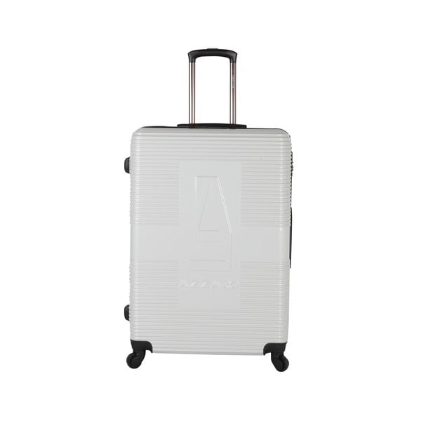 Walizka Azzaro Medium White, 70.2 l