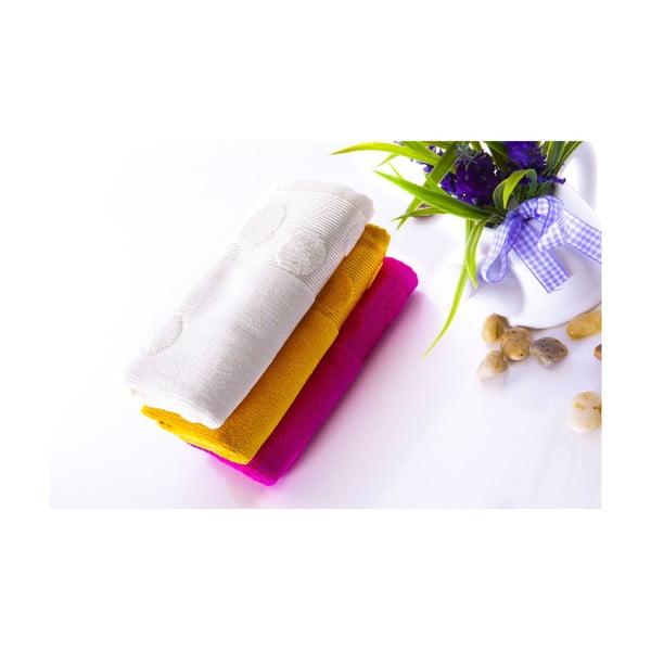 Zestaw 3 ręczników Tropical V2, 30x50 cm