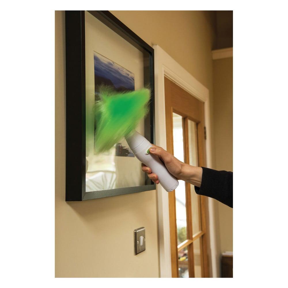 Zielono Biała Szczotka Obrotowa Do Kurzu Premier Housewares Duster Bonami