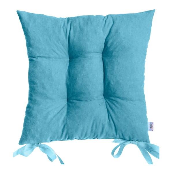 Poduszka na krzesło Carli, niebieska