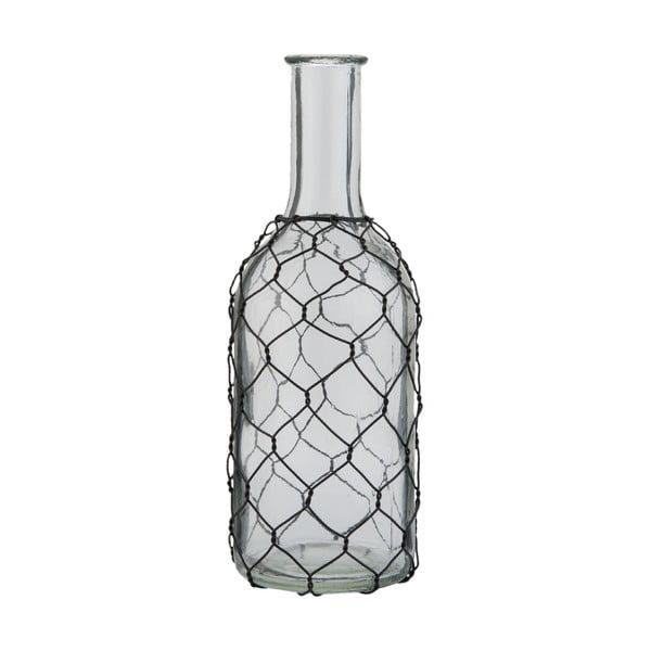 Butelka szklana Clayre & Eef Transparent, wysokość 22 cm