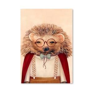 "Plakat ""Hedgehog"", 30x42 cm"