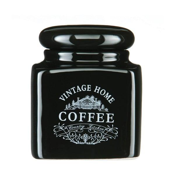 Czarny pojemnik na kawę Premier Housewares Vintage Home