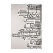 Szary dywan Clista Rugs Madrid City, 60x110 cm