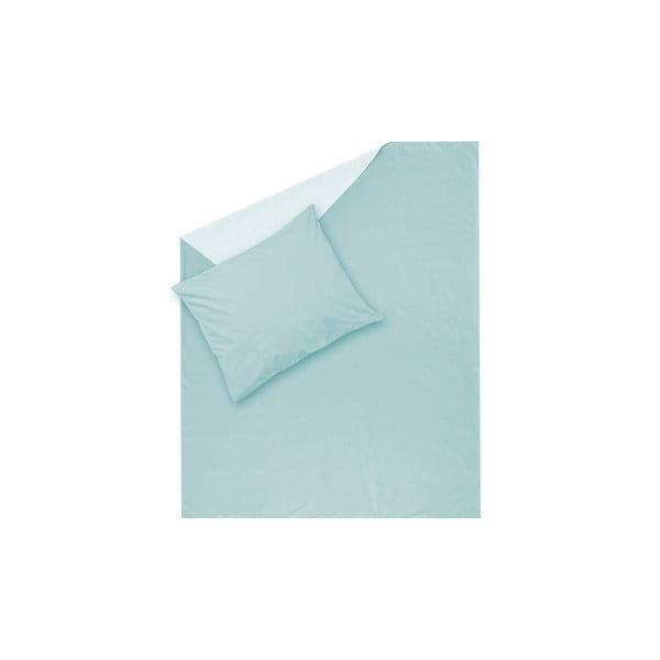 Miętowa pościel Hawke&Thorn Parker Simple, 150x200 cm + poduszka 50x60 cm