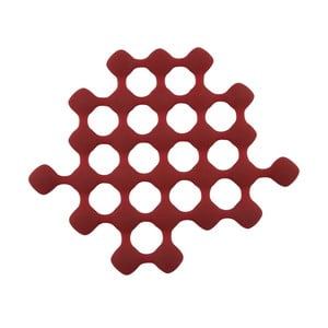 Silikonowa podstawka pod gorące naczynia Zone Red