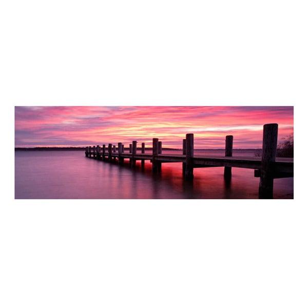 Obraz na szkle Zachód Słońca, 30x90 cm