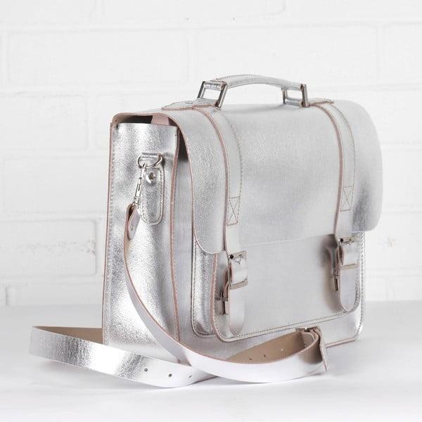 Torebka Boho Briefcase, silver