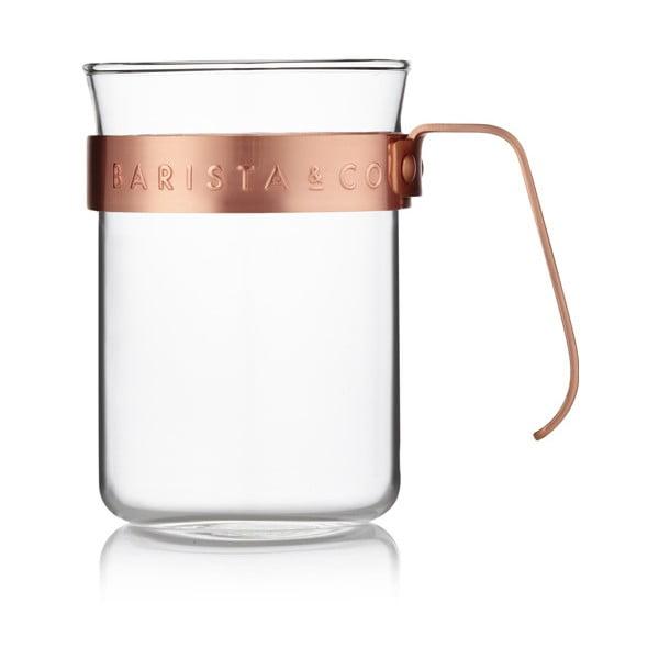 Naczynie do kawy Barista 220 ml, miedziane, 2 szt.