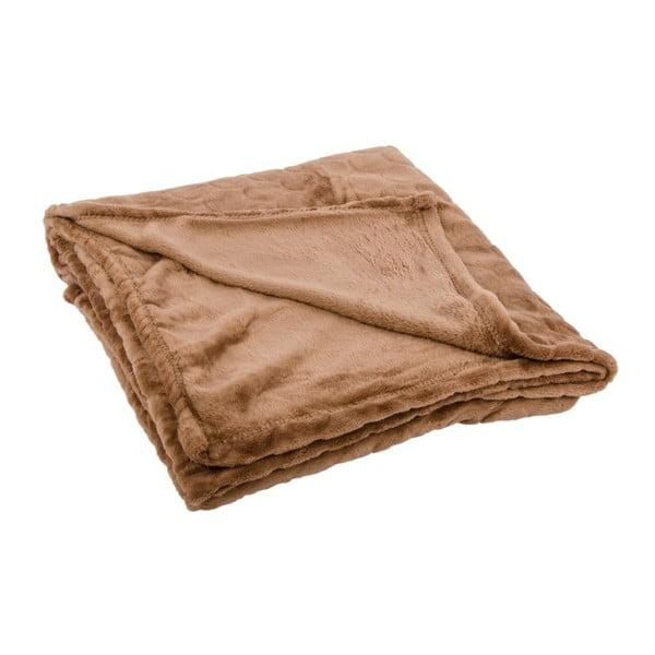 Pled Softy Taupe, 125x150 cm