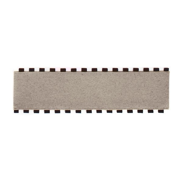 Tapperello Beige, dywan 120x35 cm
