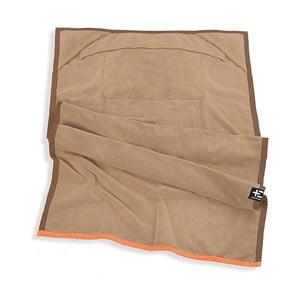 Ręcznik plażowy One Moe 90x180 cm, brązowy