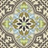 Naklejki Tile Art Grey Symbols