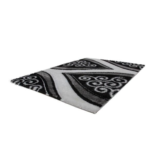 Dywan Fortune 80x150 cm, srebrny