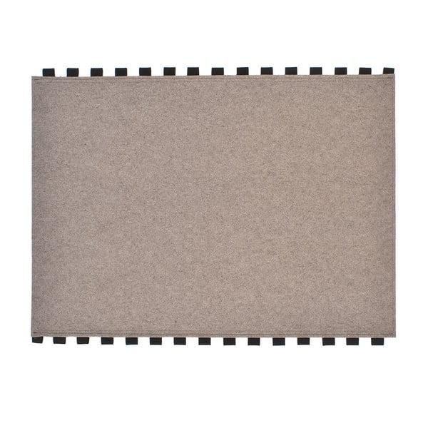 Tapperello Beige, dywan 120x95 cm