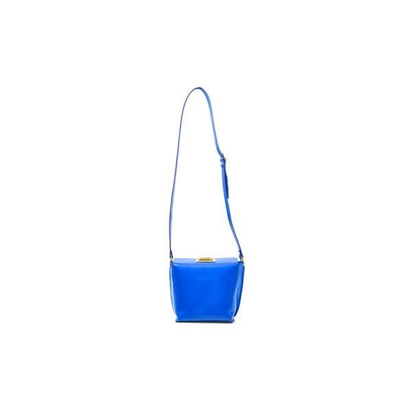 Skórzana torebka Tracy, niebieska