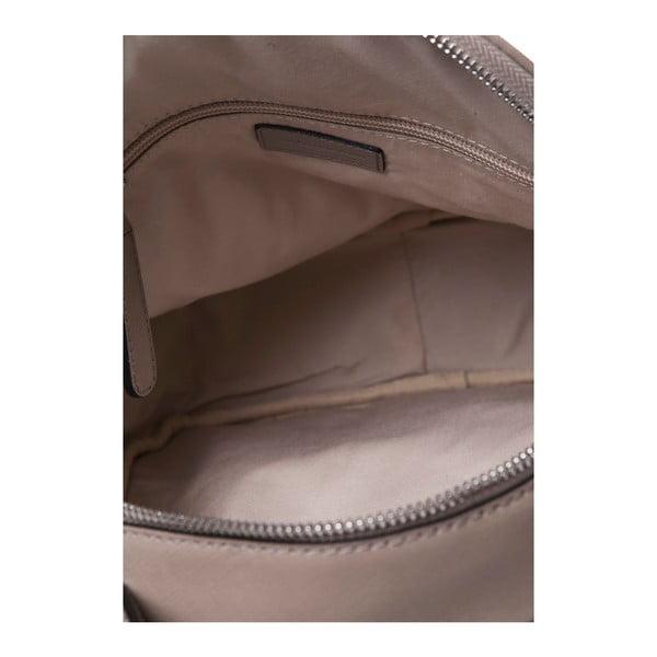 Skórzany plecak Marta Ponti Pavone, piaskowy