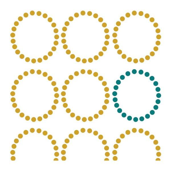 Poszwa na kołdrę Circles, 140x200 cm