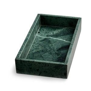 Zielona taca marmurowa NORDSTJERNE, 15x30 cm