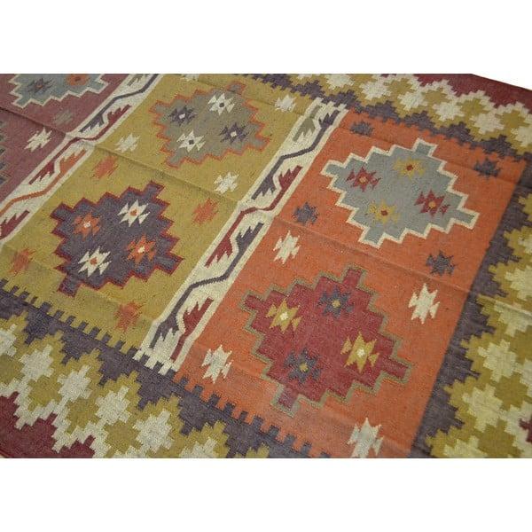 Dywan ręcznie tkany Radżastan, 270x180 cm