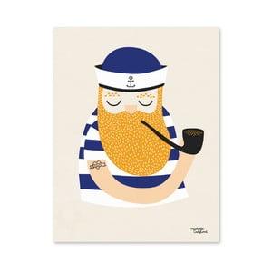 Plakat Michelle Carlslund Little Sailor, A4