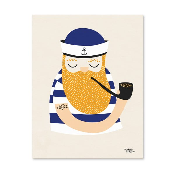Plakat Michelle Carlslund Little Sailor, A4