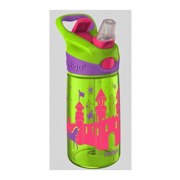 Butelka dziecięca Striker 420 ml, zielona