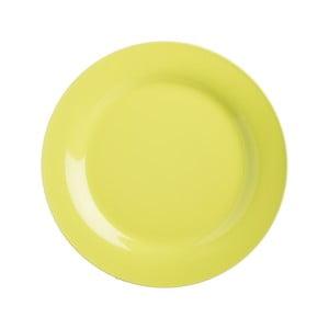 Talerz kamionkowy Green Dinner, 21 cm