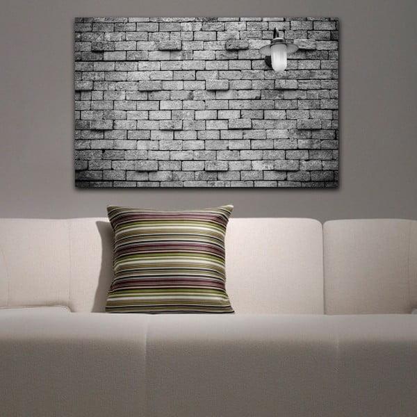 Obraz Black&White Brick, 45x70 cm