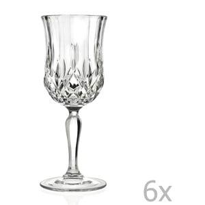 Zestaw 6 kieliszków do szampana RCR Cristalleria Italiana Angiola