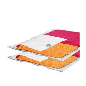 Zestaw 2 worków próżniowych na ubrania Ordinett Jumbo, 80 x 120 cm