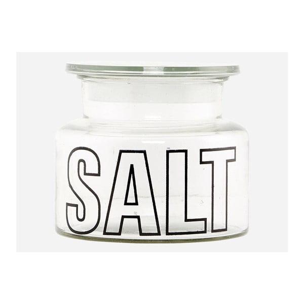 Szklany pojemnik Salt