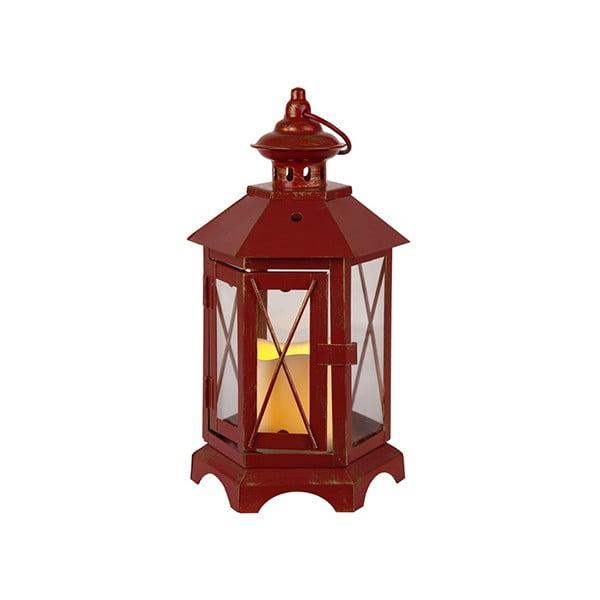 Lampion LED Eba, czerwony