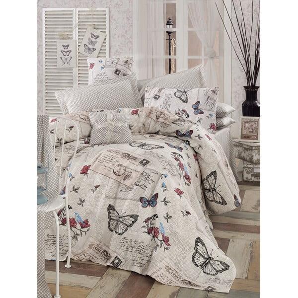 Cienka narzuta na łóżko Retrofly, 160x235 cm