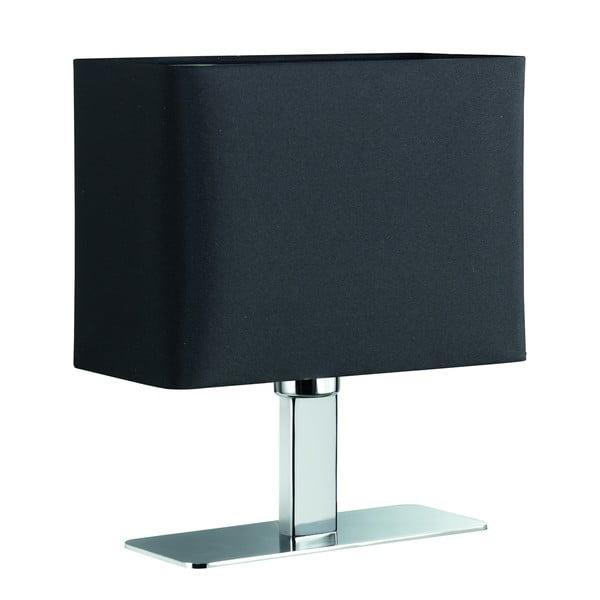 Lampka stołowa Ming, czarna