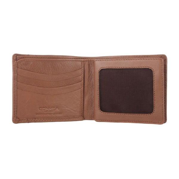 Skórzany portfel Rufus Natural Veg