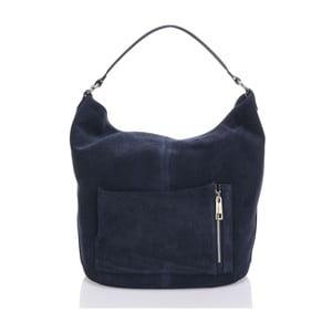 Skórzana torebka Krole Kim, niebieska